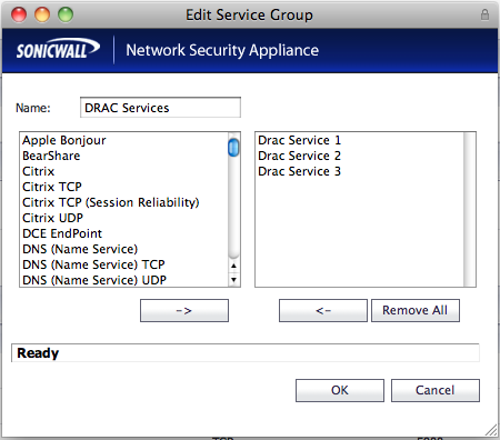 Allow Access to a Dell Remote Access Controller (DRAC or iDRAC