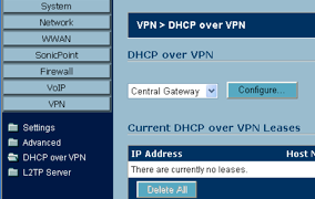Configuring IPSecuritas for Use with a SonicWall TZ190
